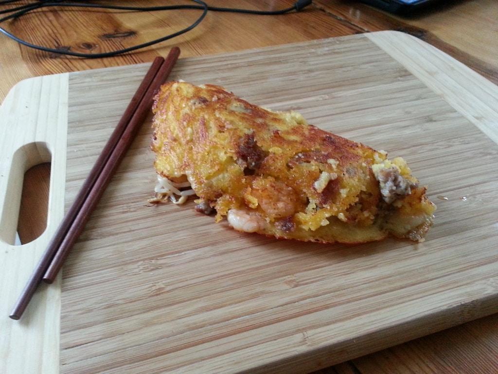 Bánh xèo – vietnamesische Crêpes