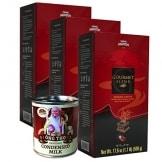 3x500g Vietnamesischer Kaffee gemahlen Gourmet Mischung von Trung Nguyen + 1 gezuckerte Kondensmilch gratis