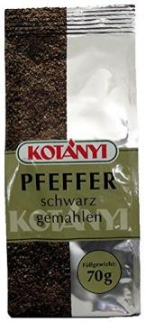 Kotanyi Pfeffer schwarz gemahlen, aus Vietnam - 70g