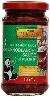 Lee Kum Kee Chili Knoblauch Sauce, 6er Pack (6 x 0.165 l)