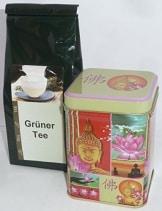 Oolong Tung Ting Grüner Tee aus Vietnam 100g mit Teedose Jakata