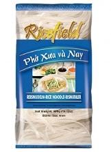 RICEFIELD Vietnam Reisnudeln auch für PAD THAI 400g Bandnudeln, 4 mm BREITE