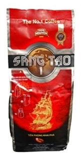 TRUNG NGUYEN KAFFEE SANG TAO1 (Trung Nguyen Vietnam Kaffee Sang Tao1X340g)