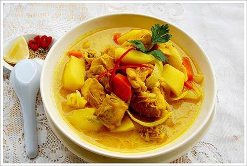 Cà ri gà – Hähnchencurry in Vietnamstyle