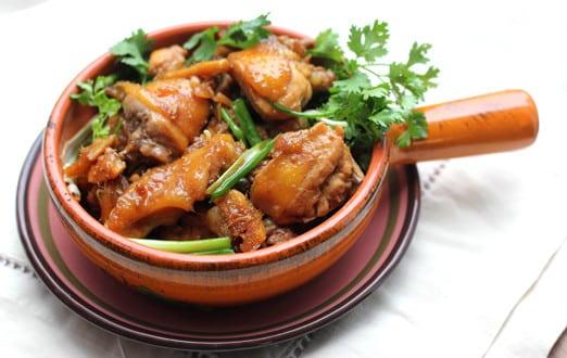 Gà Xào Gùng – Frisches Ingwerhuhn mit Reisnudelsalat