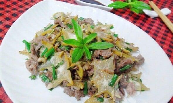 Thit Bo Sao Dau – Vietnamesisches Rinderfilet mit grünen Bohnen