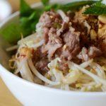 Bún bò Nam Bộ - Frischer Reisnudelsalat mit Rindfleisch aus Südvietnam