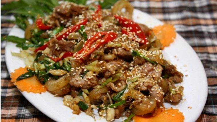 Bo Xao Xa Ot – Vietnamesisches Zitronengrasfleisch