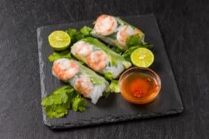 Vietnamesische-Snacks
