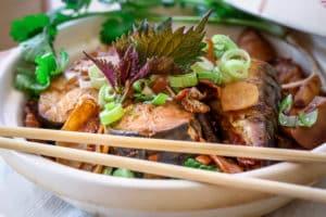 Vietnamesisches-Fischgericht