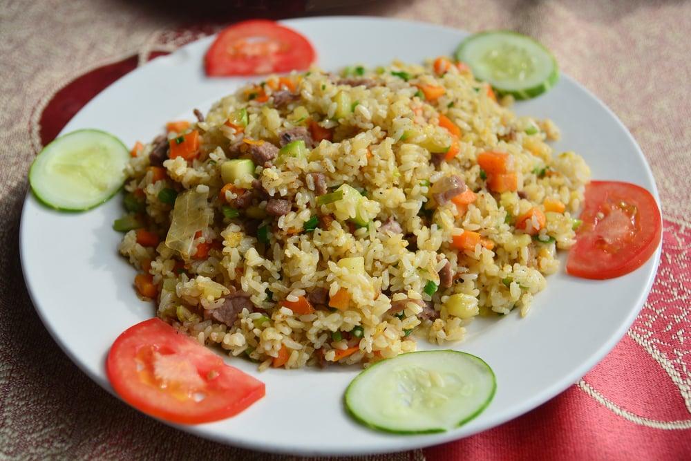 Com Chien – Gebratener Reis mit vietnamesischem Würstchen