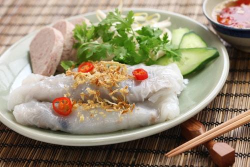 Banh Cuon – Vietnamesische gedämpfte Reisrollen