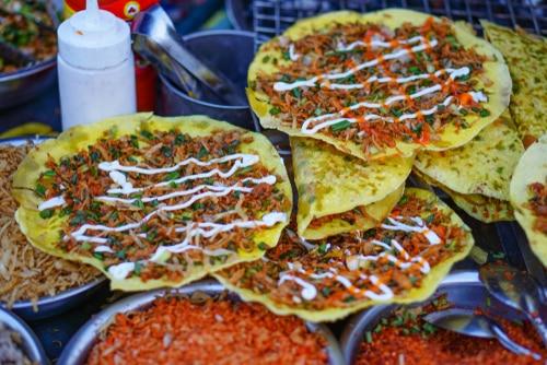Banh Trang Nuong – Die vietnamesische Pizza